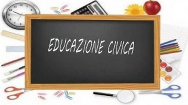 CNDDU  Nota relativa alla disciplina Educazione civica nella scuola