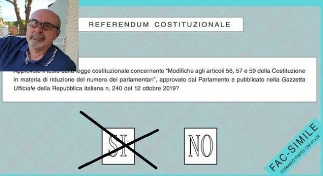 Referendum Taglio Parlamentari .  Ho deciso di votare SI | G.C.Storti
