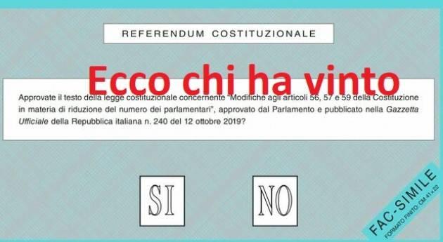 Ref.Taglio Parlamentari Dati Italia,Lombardia,Prov.Cremona ,Crema e Cremona città