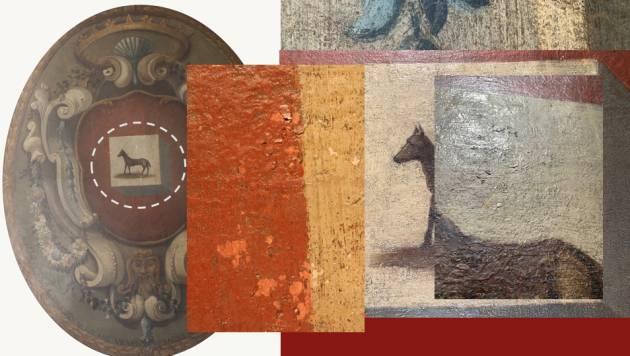 Presentato a Palazzo Gotico il restauro del dipinto ''Antico stemma della città di Piacenza''