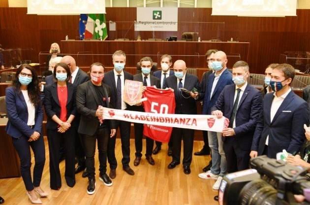 LombNews Consiglio regionale premia squadre di calcio neopromosse Monza, Mantova e Pro Sesto