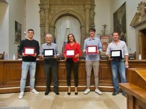 VIDEO e FOTO delle premiazioni FIDAL di Sveva Gerevini, Dario Dester e Leonardo Pini.