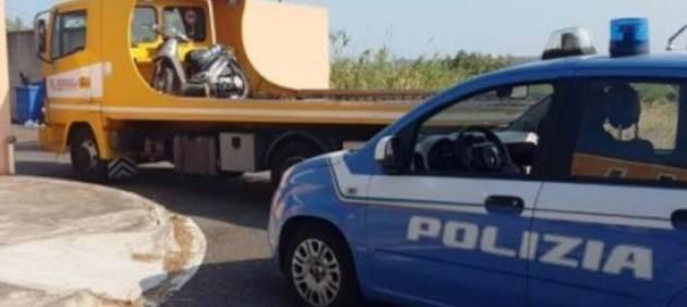 Fermati sullo scooter con un neonato di 26 giorni a Catania