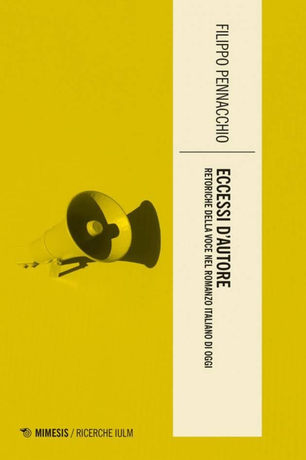 Libreria Convegno Cremona Presenta ECCESSI D'AUTORE DI FILIPPO PENNACCHIO il 26/9