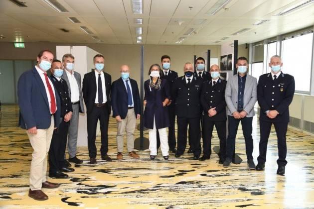 LombNews Agenti di polizia penitenziaria del Carcere di Bollate e del Bassone di Como ricevuti a oggi Palazzo Pirelli