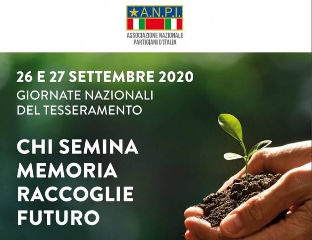 Presidio ANPI Cremona il 26/9 per tesseramento 2020