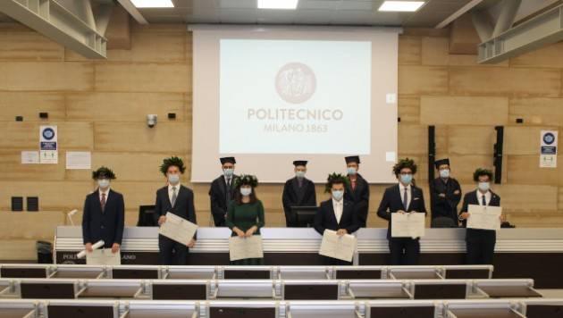 SESSIONE DI LAUREA OGGI AL CAMPUS DI CREMONA DEL POLITECNICO DI MILANO