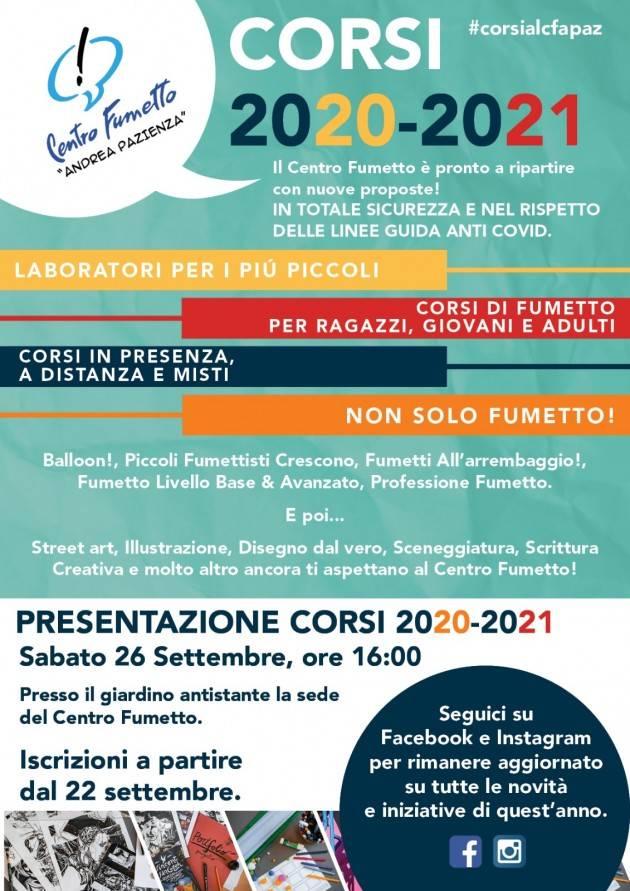 Cremona Ritornano i corsi del Centro Fumetto 'Andrea Pazienza'!