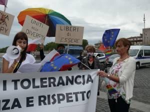 Roma Si è svolta lo scorso 25 settembre MANIFESTAZIONE PER LA TUTELA DEI DIRITTI UMANI IN POLONIA