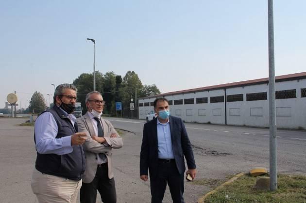 Viabilità e sicurezza stradale: Signoroni va in visita a Vescovato