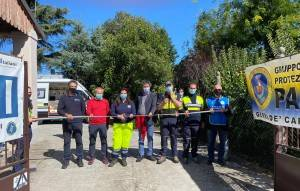 DAL TERRITORIO: Nuova sede per le 'comunicazioni d'emergenza' per la Protezione Civile 'Padus' di Gerre de Caprioli