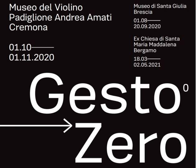 MDV Istantanee 2020 E' Approdata a Cremona, sua seconda tappa, la mostra GestoZero.