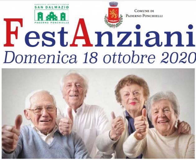 Paderno Ponchielli (CR) FestAnziani Domenica 18 ottobre 2020