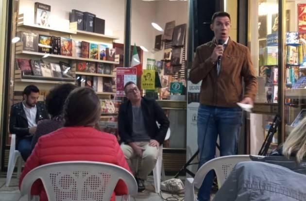 Casalmaggiore Si  svolta con successo la presentazione del libro 'Caccia all'omo' di Simone Alliva organizzata da Arcigay