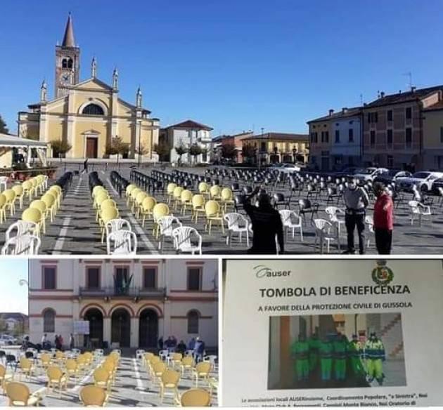 Gussola Nonostante le sedie vuote abbiamo gettato un seme importante per la comunità Gussolese  Sante Gerelli
