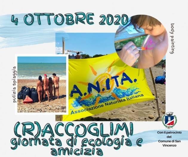 R Accoglimi una giornata di pulizia della spiaggia naturista di San Vincenzo