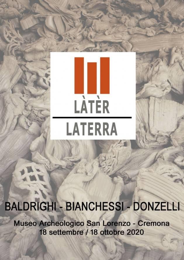 Cremona Museo San Lorenzo Mediterranean sounds evento 9 Ottobre mostra Làtèr- La Terra
