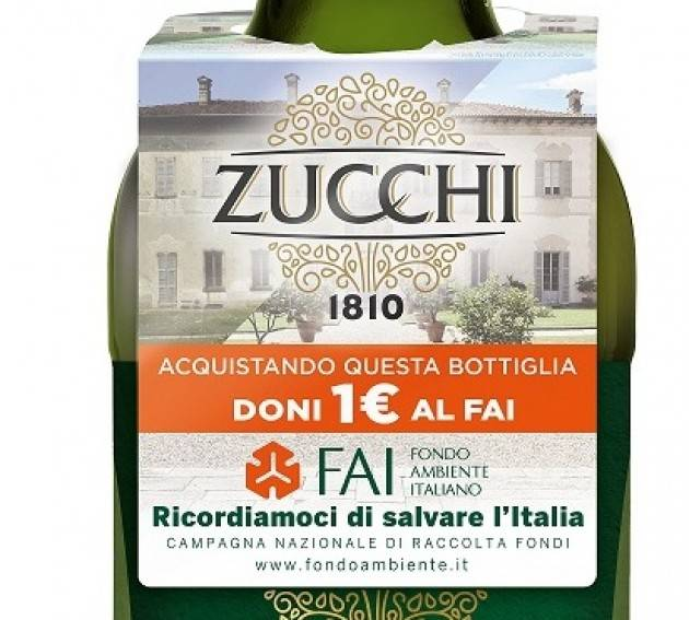 Cremona Oleificio Zucchi sostiene il FAI con 'Ricordiamoci di salvare l'Italia'