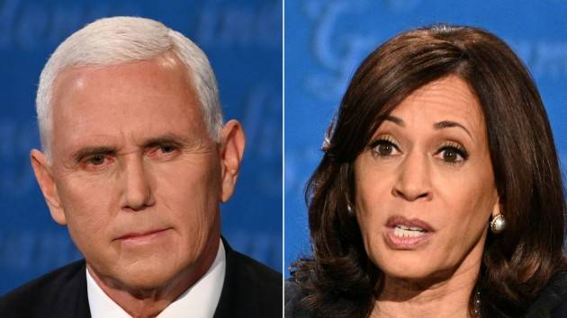 Il dibattito tra Kamala Harris e Mike Pence
