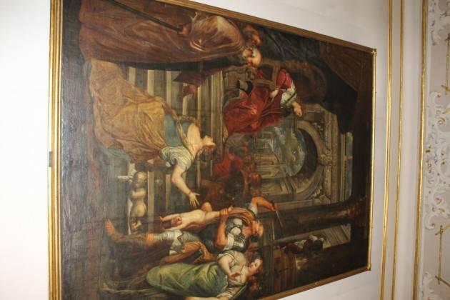 """Paolo Carletti risponde  al gruppo 'Stoccafisso Cremona' su commenti relativi al dipinto """"Il Giudizio di Salomone"""" da sempre  esposto in sala consulta."""