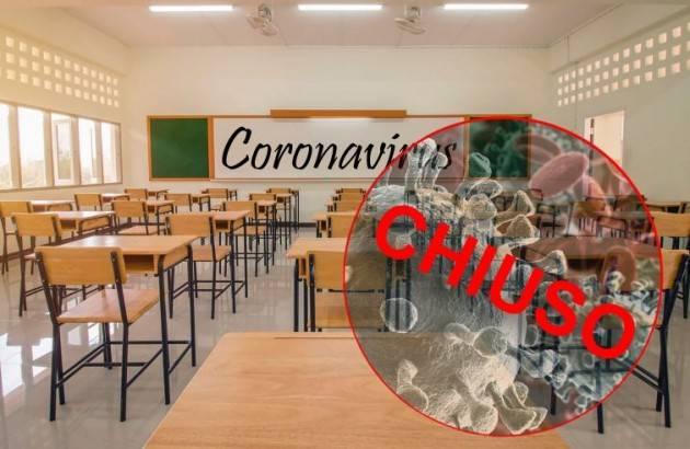 Covid, 223 scuole chiuse e oltre 1.490 con contagi