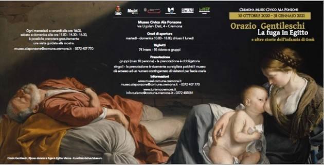 Cremona PRESENTATA LA MOSTRA 'ORAZIO GENTILESCHI E LA FUGA IN EGITTO'