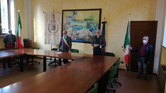 A Pozzaglio (CR) Sabato 10/10  Commemorazione partigiano 'CARMEN' Corada, presidente ANPI, traccia il significato [ telefonata]