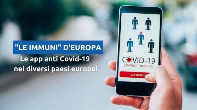 Le Immuni d'Europa: tra i clamorosi nuovi arrivi e le app in fase di stagnazione