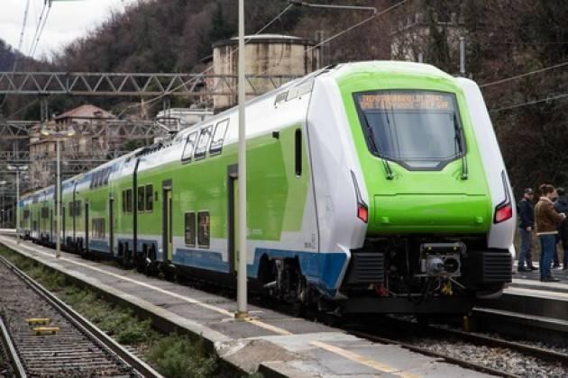 Nuovo treno Caravaggio su linea Milano-Bergamo