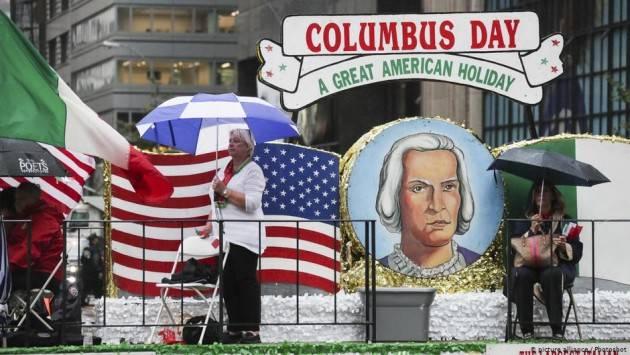 Oggi 12 ottobre  in America il  Columbus Day.