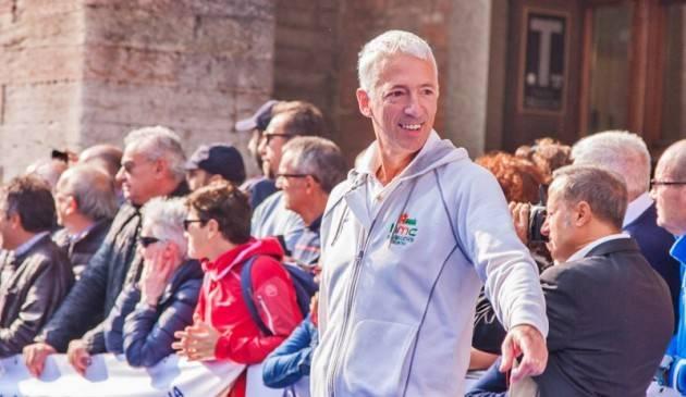 MARATONINA DI CREMONA: Mario Pedroni,  'mi mancherà la mattina della partenza, sono 18 anni che dopo lo sparo mi commuovo'.