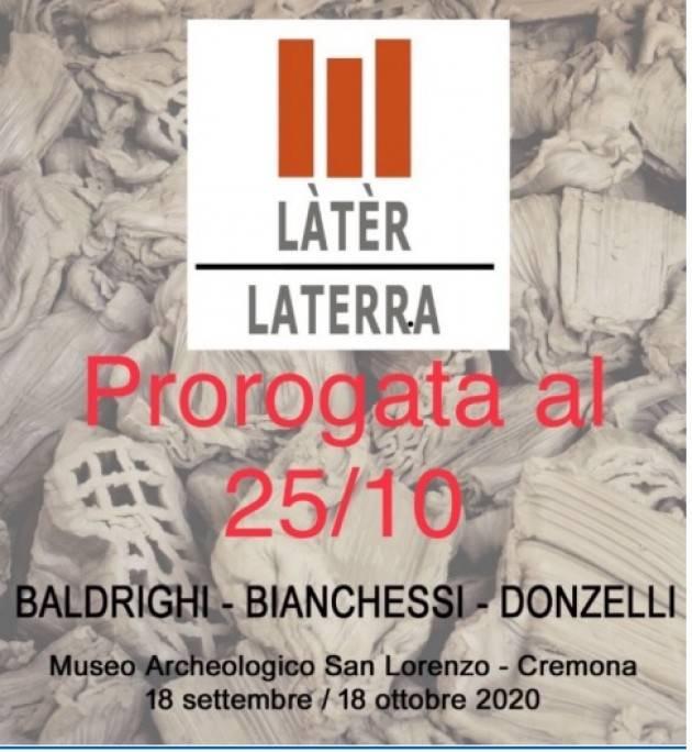 """Museo Archeologico S.Lorenzo di Cremona. Al """"……QUAL RUGIADA O QUAL PIANTO?""""  il 18/10"""