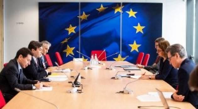 RECOVERY FUND/ AMENDOLA A BRUXELLES: AL VIA IL DIALOGO INFORMALE CON LA COMMISSIONE