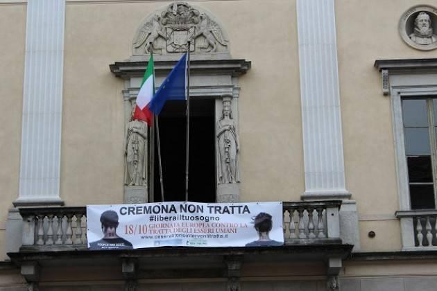 Cremona aderisce alla Giornata europea contro la tratta di esseri umani