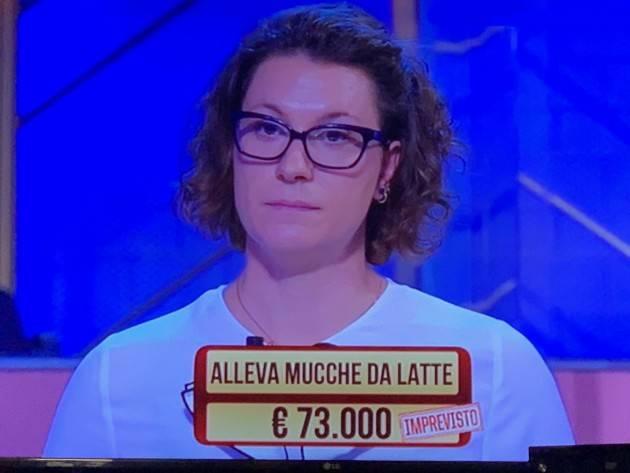Coldiretti Cremona Rossana Fassera: la passione per l'allevamento ai 'Soliti Ignoti' di Amadeus