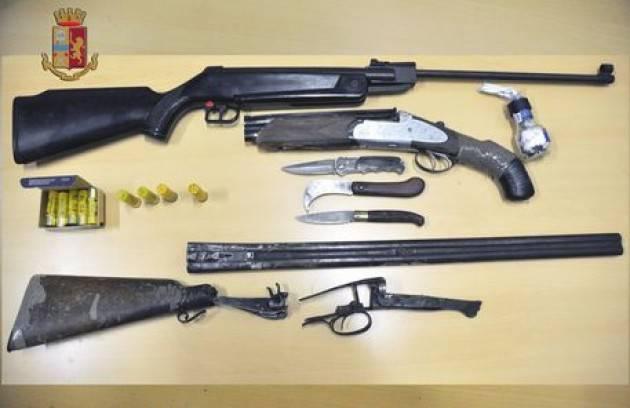 Traffico internazionale armi, quattro arresti