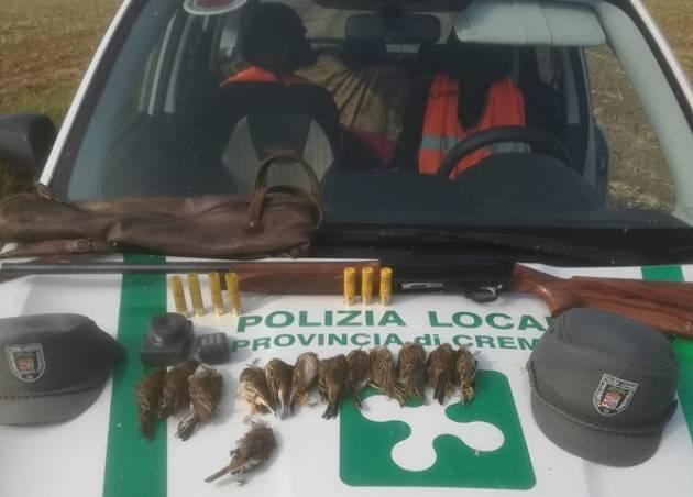 Caccia illecita nelle campagne di Castelvisconti, interviene la Polizia Provinciale