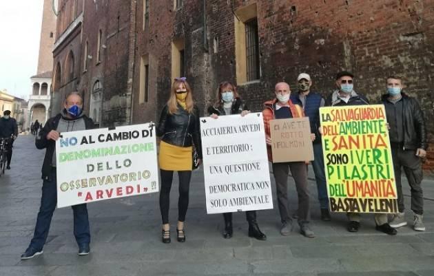 Cremona ACCIAIERIA ARVEDI :UNA  QUESTIONE DEMOCRATICA, NON SOLO AMBIENTALE