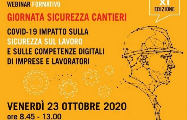 Cremona GIORNATA DELLA SICUREZZA NEI CANTIERI  XI EDIZIONE IL 23/10