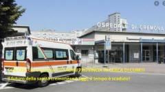 CGIL-CISL-UIL Cremona CITTADINI PROVINCIA IN CERCA DI CURE!! Il futuro della sanità cremonese è oggi, il tempo è scaduto!