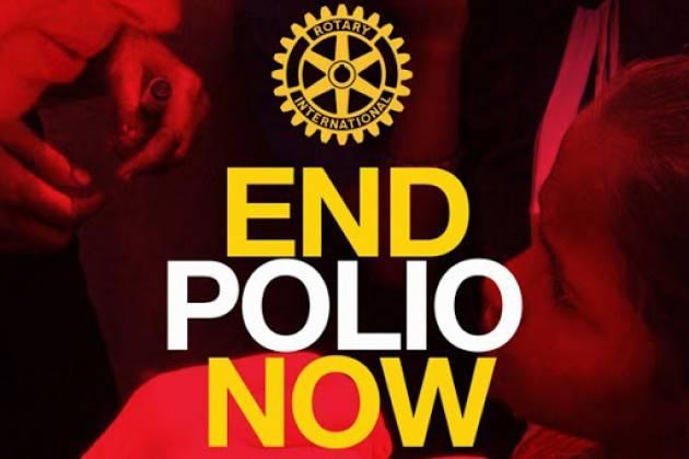 Crema Giornata Internaizone POLIO - Rotary - illuminazione Torrazzo