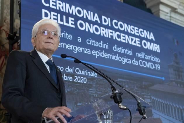 Gianluca Galimberti COVID, RIMANDATA AL 2021 LA VISITA DEL PRESIDENTE MATTARELLA