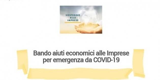Soresina Diego Vairani Bando comunale contributi alle imprese