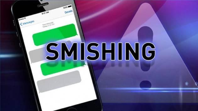 CODACONS CREMA: TRUFFE ON-LINE, ATTENZIONE ALLO SMISHING!!! FALSI SMS APPARENTAMENTE