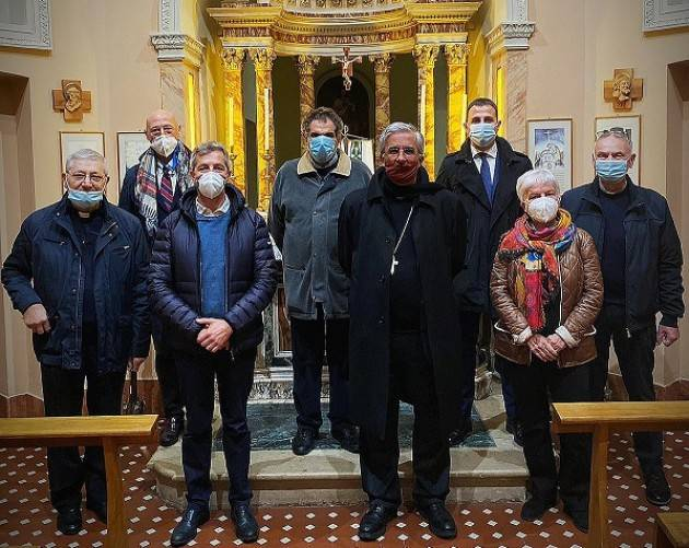 Il Vescovo di Cremona Antonio Napolioni visita la Fondazione di Sospiro