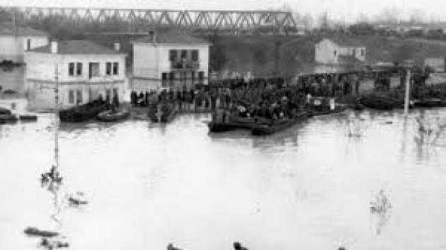 GOLENA CASALASCA  e l'alluvione del 1951   Gerelli Sante , Sinistra Italiana  Gussola