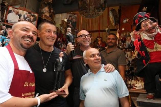 Dolce e Gabbana premio Sostenitori Mestieri d'Arte