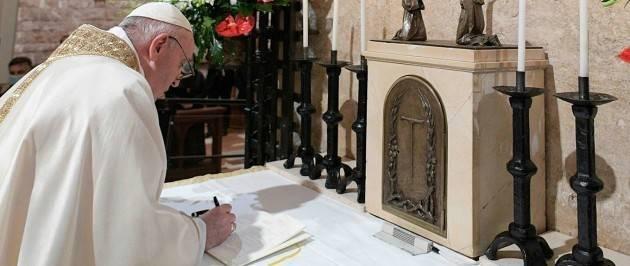 Enciclica Papa Francesco 'Fratelli tutti' Approfondiscono Raniero La Valle e Francesco Comina.Coordina Carla Bellani [Video G.C.Storti]