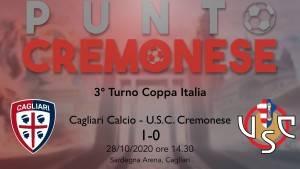 PUNTO CREMONESE: Cremo fuori dalla Coppa Italia ma a testa alta