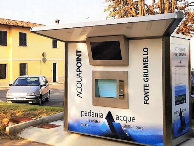 Padania Acque prosegue installazione case acqua: Annicco, Credera , Grumello  e Pozzaglio